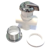 Diverter Valve Small - Chrome