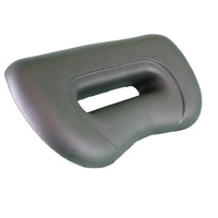 Platinum Elite Waterfall 12in Charcoal Headrest