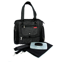 S.B Annabelle Black Nappy Bag
