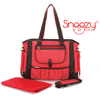 S.B Annabelle Red Nappy Bag